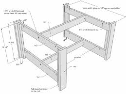 Plans For Wooden Coffee Tables by Coffee Table Plan Drawing Furniture Pinterest Coffee Table