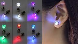 led earrings get my perks light up led earrings free shipping