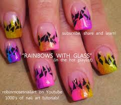 shattered glass nail art is the hottest trend on the internet diy