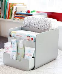 Nursery Organization This The Honest Company Gray Diaper Caddy By The Honest Company Is