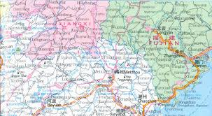 Detailed Map Of China by Map Of Guangdong Province China