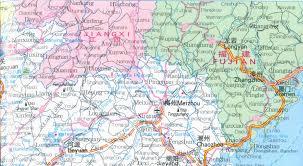 China Province Map Map Of Guangdong Province China