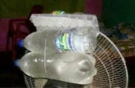 fan that uses ice to cool juggaar hack your life ice rigged room cooler fan