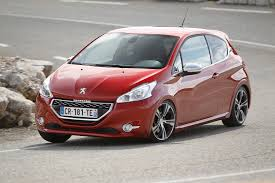 peugeot 208 red peugeot 208 gti review 2017 autocar