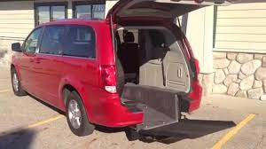 sold 2013 dodge grand caravan rear entry by the creative mobility