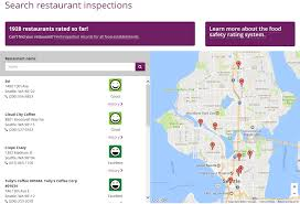 Centurylink Field Map Food Safety Rating System U2013 Public Health Insider