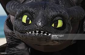 toothless dragon strikes pose train dragon 2 picture id495481135
