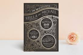 design invitations antique lines foil pressed wedding invitations by geekink design