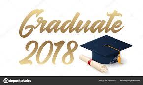 graduation poster 2018 graduation poster template stock vector woters 186690054