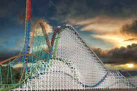 List Of Roller Coasters At Six Flags Great Adventure 10 Longest Roller Coasters In The World