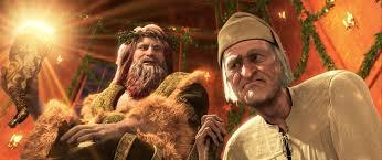 derrick on film a christmas carol what dickens