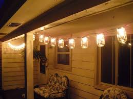 Patio Light Strands Simple Patio Area With Clear Glass Jar Patio Light Strings