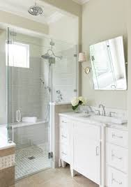 dallas light grey subway bathroom farmhouse with gray tile