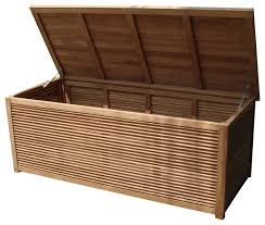 teak storage pool box contemporary deck boxes and storage by