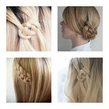 easy summer hairstyle diy celtic knot hair tutorial trendsurvivor