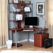 Woodworking Plans Computer Desk by Desk Painting Of Corner Desk With Shelves Design Furniture