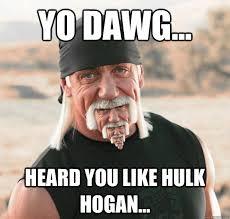 Goatee Meme - hulk hogan with a hulk hogan beard memes quickmeme