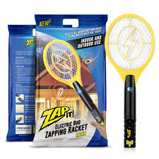 amazon com zap it mini bug zapper rechargeable mosquito fly