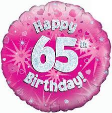 birthday baloon delivery 65th birthday balloon gift 65th birthday balloon delivery