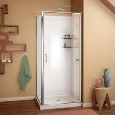 Corner Shower Glass Doors Shop Corner Shower Kits At Lowes