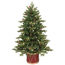 ge 4 ft spruce incandescent artificial tree
