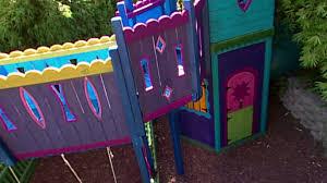 kids outdoor playhouse ideas hgtv