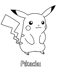 pikachu coloring pages free print coloringstar