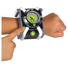 ben 10 deluxe omnitrix role play watch target