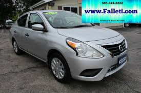 nissan versa exhaust system used 2016 nissan versa for sale batavia ny