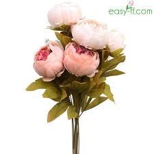 silk peonies silk peonies flowers easy ff