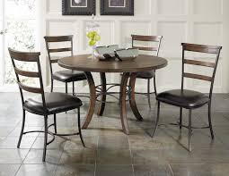 ladder back chairs muses round dining room set w ladderback