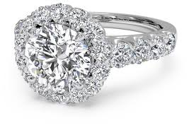 platinum halo engagement rings cut masterwork halo band engagement ring in platinum