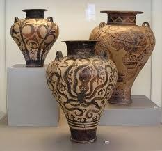 Minoan Octopus Vase Minoan Gwen Minor