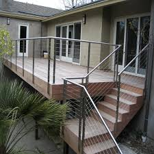 Wire Banister Opening Terrace Stainless Steel Wire Balustrade Interior Cable