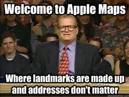 Ios Meme - 20 funny reactions to apple maps smosh