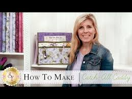 how to make a catch all caddy organizer with jennifer bosworth