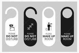 clever door hanger design ideas inspiration clubflyers