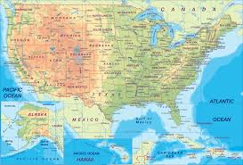 The 50 States Map by Geography Blog Us Maps With States