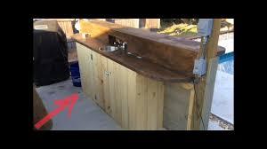 outdoor kitchen cabinet doors diy outdoor kitchen diy cabinet door install