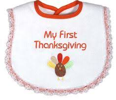 bib to protect baby clothes on thanksgiving makes a great