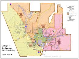 santa clarita map santa clarita community district coc to host trustee area
