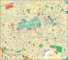 Map Of Berlin Germany by Map Of Berlin Yourcitymaps Com