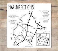 wedding invitations inserts wedding directions template free guide to wedding invitation map
