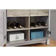 oak finish storage cabinet ameriwood viola 64 in gray sonoma oak storage cabinet hd35571 the