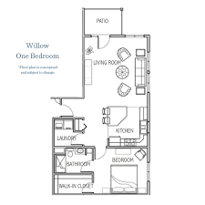 Willow Floor Plan by Expansion Circle Of Friends