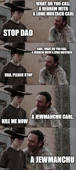 Ls Memes - rick and carl long meme imgflip