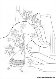 frozen coloring sheet winter wonderland frozen pinterest