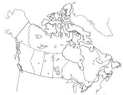 blank political map of canada physical map of canada by aaron park thinglink