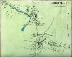 Paper Town Map Maps Norfolk Historical Society