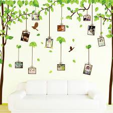 online get cheap tree sticker wall decor aliexpress alibaba pcs set pvc waterproof wall stickers diy memory tree mural home decor poster